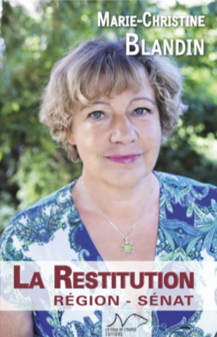"Couverture ""La restitution"" - Marie-Christine Blandin"